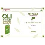 Bottiglia 750 ml olio BIO monovarietale Delia Orsini