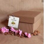 Mondì Zuccotto con Cioccolato Bianco e Mandorle a Scaglie - Scatola in Cartone da 1 kg