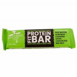 Barrette di proteine naturali al 100% Avicenna (confezione da 15 barre da 52 g)