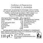 Confettura di Peperoncino JALAPENO e LAVANDA