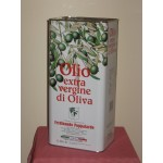 lattina 5 litri olio extravergine di oliva 100% italiano