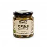Asparagi a pezzettoni bio in olio extravergine d'oliva 270gr,asparagi a pezzi biologici in EVO 314ml