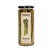 Asparagi interi biologici in olio extravergine d'oliva 520gr, asparagi interi in EVO biologici 580ml