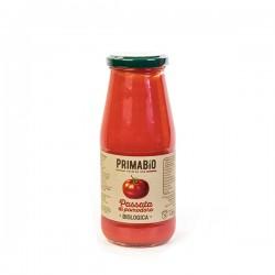 Passata di pomodoro tondo biologica da 420gr, passata di pomodoro biologica di pomodoro tondo 446ml