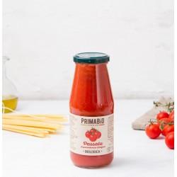 Passata di pomodoro ciliegino rosso biologica 420g, passata di pomodoro biologica ciliegino da 446ml
