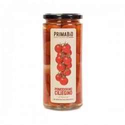 Pomodoro ciliegino al naturale biologico da 550gr, pomodoro ciliegino biologico al naturale da 580ml