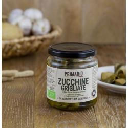 Zucchine grigliate bio all'olio extravergine d'oliva 280g,zucchine grigliate biologiche in EVO 314ml