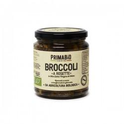 Broccoli a rosette bio all'olio extravergine d'oliva 280gr,broccoli a rosette biologici in EVO 314ml