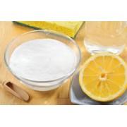 Salt flavored with lemon