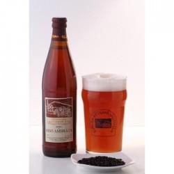 """Birra """"Riso Ambrata"""" 6 bottiglie CL 50"""