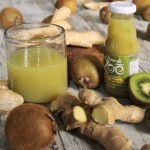 Nettare Biologico di Kiwi e Zenzero con zucchero d'uva 700ml