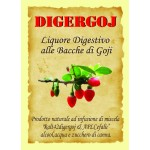 DIGERGOJ 70 cl.Liquore Digestivo alle Bacche di Goji