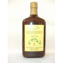 GINSENO MENTA 70 cl. Liquore Digestivo al Ginseng e Menta